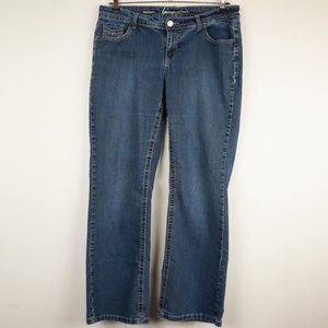 Lane Bryant Jeans Boot Cut Mid-Rise Medium Wash 16